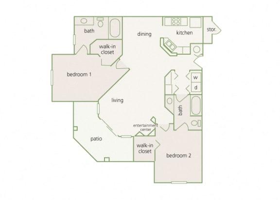 Park Del Mar - B3 - Degas - 2 bedroom - 2 bathroom
