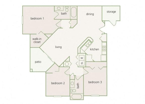 Park Del Mar - C1 - Renoir - 3 bedroom - 2 bathroom