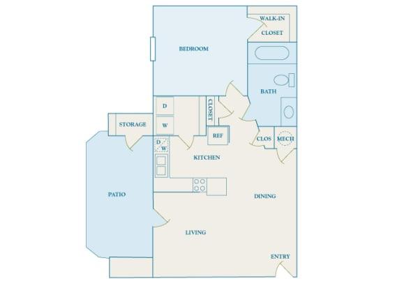 Cheswyck at Ballantyne Apartments - A2 (Appleton) - 1 bedroom and 1 bath
