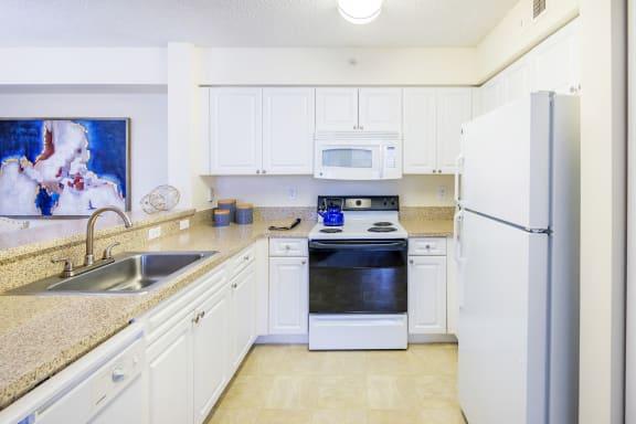 La Costa Apartments kitchen appliances