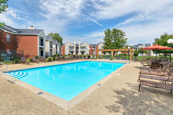 East Chase Apartments - Two sparkling swimming pools