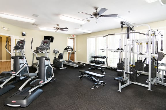 Barton Vineyard Apartments 24-hour fitness center