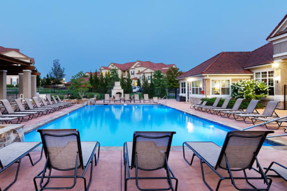 Cordillera Ranch Apartments - Resort-style saltwater heated pool with spa