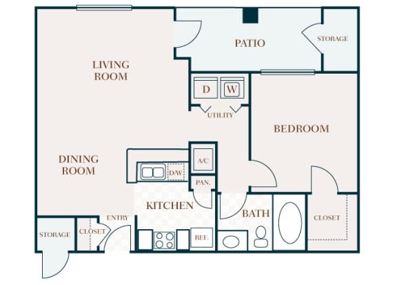 Delayne 2D floor plan A2