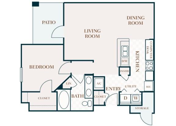 Delayne 2D floor plan A3