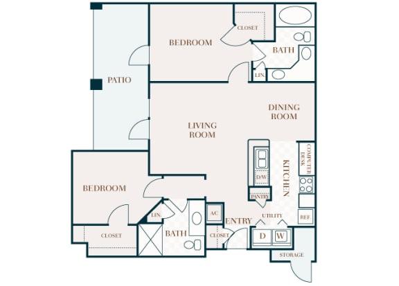 Delayne 2D B2 floor plan