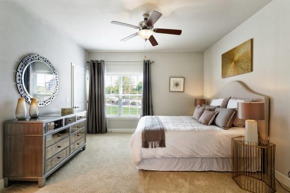 Corbin Greens Apartments - Bedroom interior