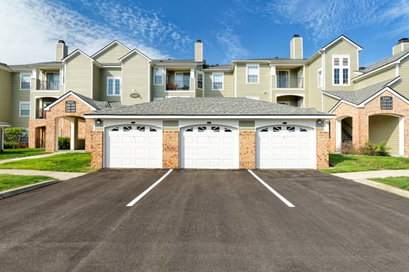 Lantern Woods Apartments - Garages with remote entry available