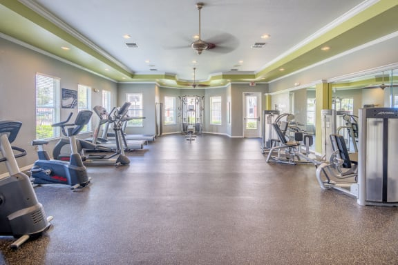 Asprey at Lake Brandon Apartments state-of-the-art fitness center