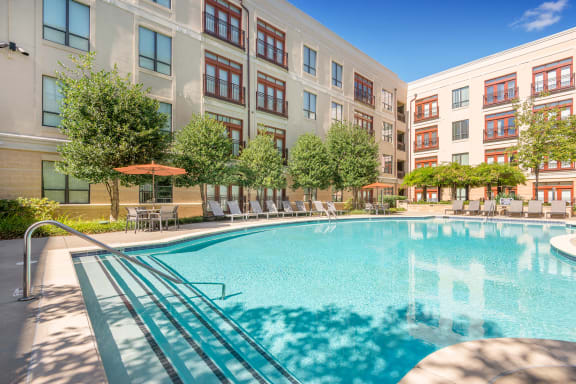 Lofts at Lakeview Apartments - Resort-style pools with Wi-Fi