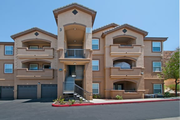 Antelope Ridge Apartments balcony or large patio in each apartment