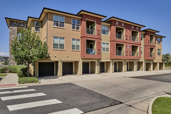 Acadia at Cornerstar Apartments breezeway attached and detached garages