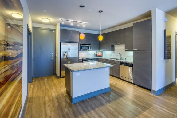 AVANT on Market Center - European-style cabinetry in kitchens