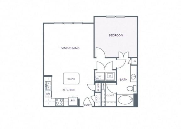 AVANT on Market Center - A10 - 1 bedroom and 1 bath