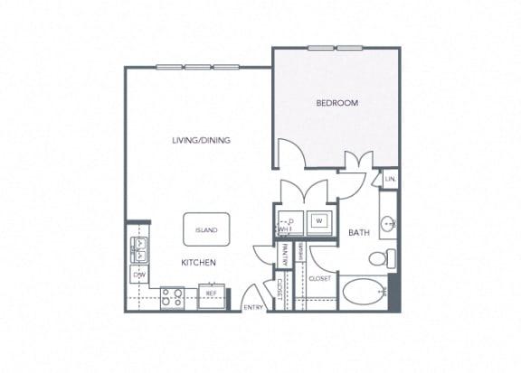 AVANT on Market Center - A4 - 1 bedroom and 1 bath