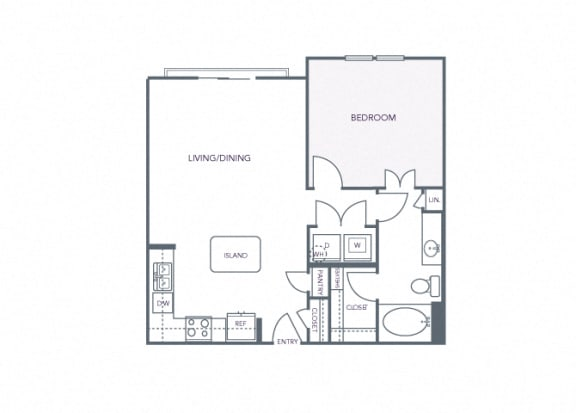 AVANT on Market Center - A5 - 1 bedroom and 1 bath