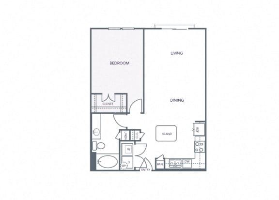 AVANT on Market Center - A6 - 1 bedroom and 1 bath