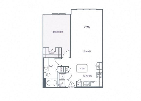 AVANT on Market Center - A8 - 1 bedroom and 1 bath