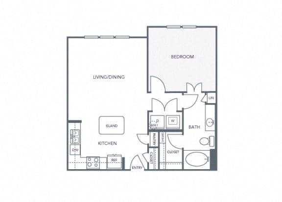 AVANT on Market Center - A9 - 1 bedroom and 1 bath