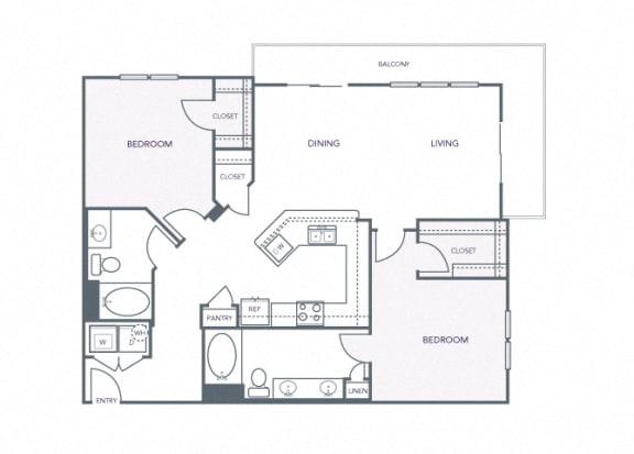 AVANT on Market Center - B8 - 2 bedroom and 2 bath