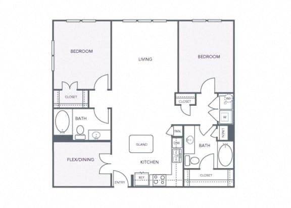 AVANT on Market Center - B9 - 2 bedroom and 2 bath