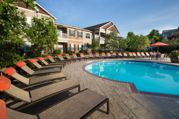 Carrington Place at Shoal Creek - Resort-style pool with sun deck