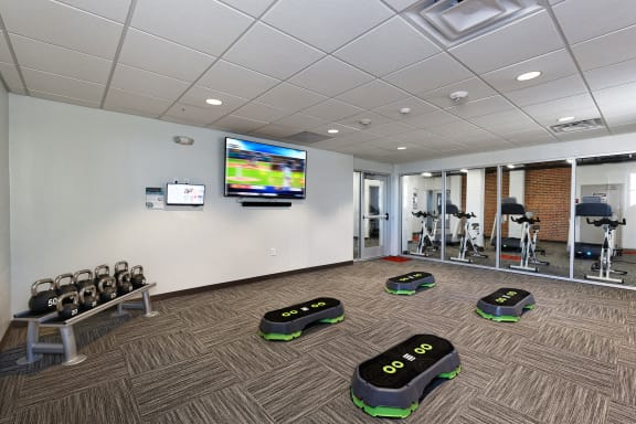 The KC High Line - Fully-equipped 24-hour fitness center with high-tech cardio equipment and training system