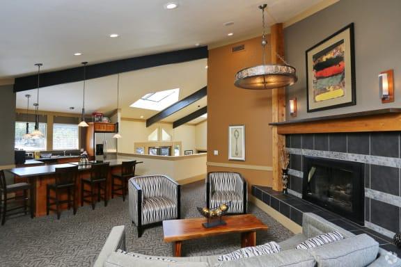 Beautifully Remodeled Clubhouse at Copper Ridge Apartments, Washington, 98055