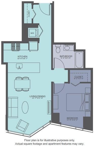Floor Plan  Floor Plan at Moment, Illinois