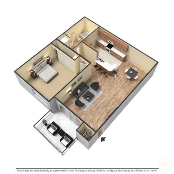 Floor Plan  Northridge, Apartments, Amenities, Renovated, Luxury, Gated, Pet Friendly