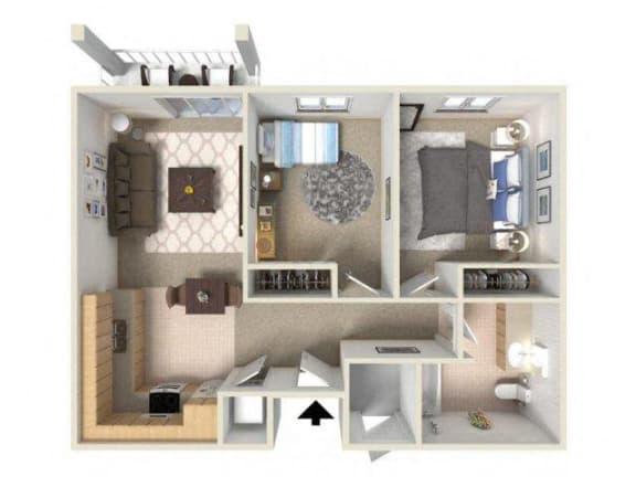 Vintage at Burien Senior Apartments l Two Bedroom Rentals