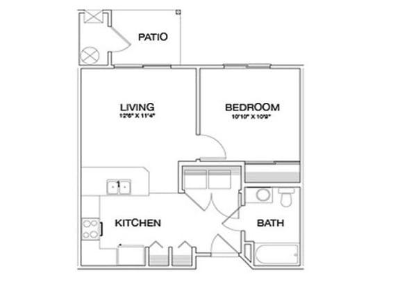 One Bedrooms Laughlin, NV l Vintage at Laughlin Senior Apartments