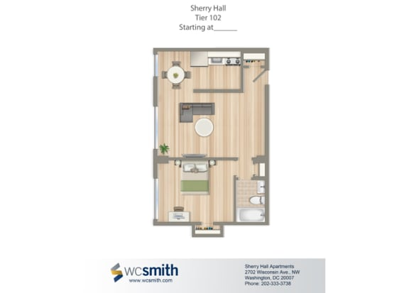 550-Square-Foot-One-Bedroom-Apartment-Floorplan-Available-For-Rent-Sherry-Hall-Apartments