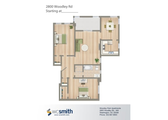 1055-Square-Foot-Two-Bedroom-Apartment-Floorplan-Available-for-Rent-2800-Woodley-Road