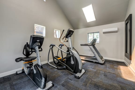 State of the Art cardio equipment at Fitness Center at 1750 On First, California, 93065