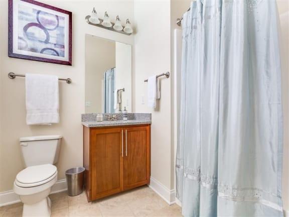 Updated Bathrooms at Greenway at Stadium Park, Greensboro, North Carolina