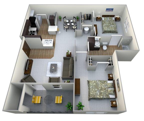 AD  3D Floor Plan