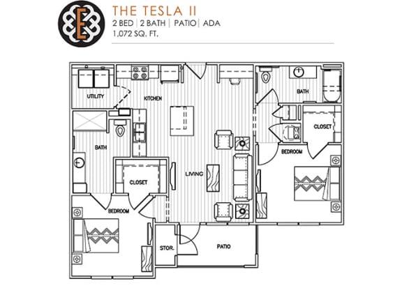 THE TESLA II at The Edison at Peytona, Gallatin,Tennessee