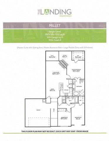 millet round rock luxury apartments