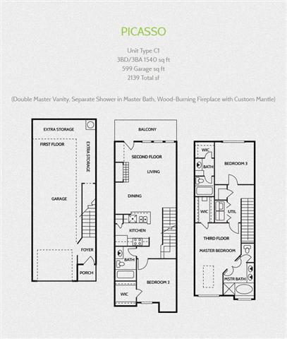 picasso round rock luxury apartments, Round Rock Texas