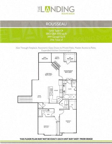 rousseau round rock luxury apartments
