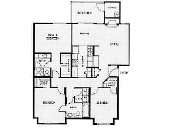 Floor Plan  Floor Plan at Willina Ranch, Bothell