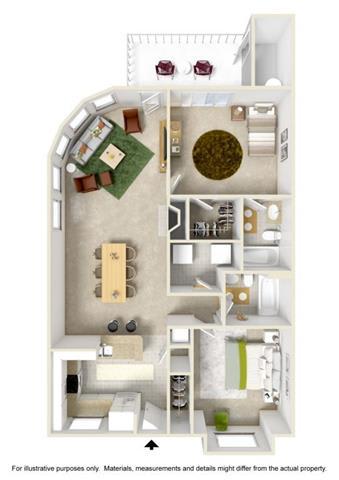 Floor Plan at Willina Ranch, Bothell, WA