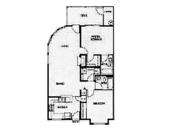Floor Plan  Floor Plan at Willina Ranch, Bothell, WA 98011
