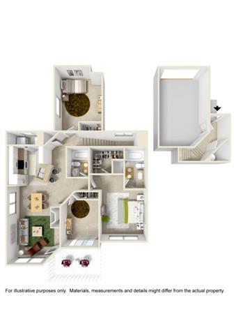 Floor Plan  Floor Plan at Willina Ranch, Washington, 98011