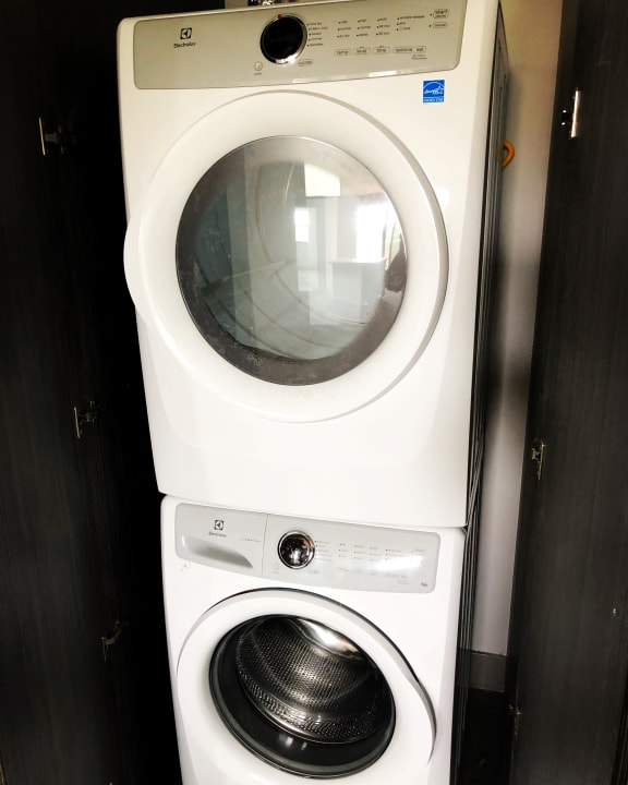 Full-Size Front Loading Washer/Dryer in Every Unit at The Mansfield at The Mansfield at Miracle Mile, Los Angeles, CA