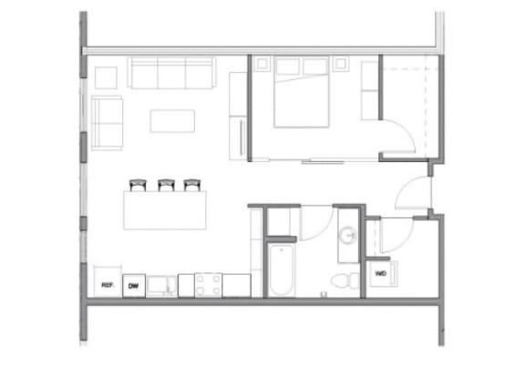 Floor Plan  Floor Plan at Allez, Redmond, 98052