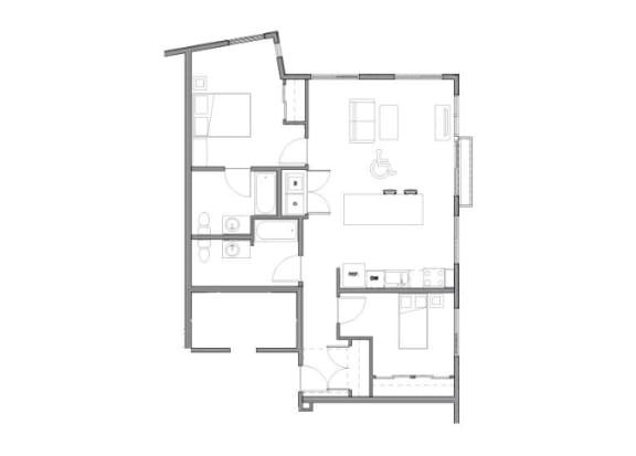 Floor Plan  Floor Plan at Allez, Redmond