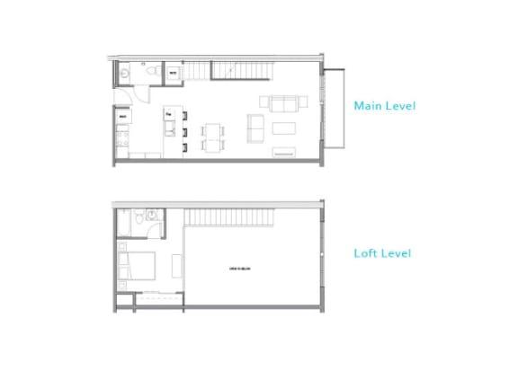 Floor Plan  Floor Plan at Allez, Redmond, WA 98052