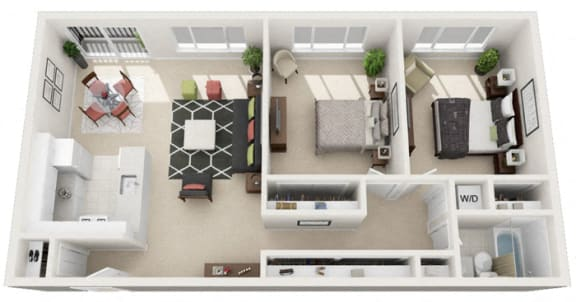 Floor Plan  The Belvedere, Restyled